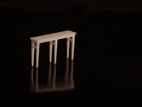 1:48 Console Table in White Strong & Flexible