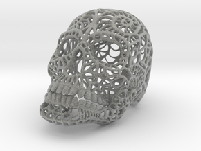 Nautilus Sugar Skull - MEDIUM in Metallic Plastic