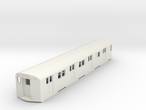 ho scale r27/r30 subway car new york city (single) in White Strong & Flexible