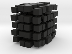 4x5x6 Cuboid in Black Strong & Flexible