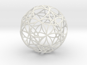 Stripsphere  30 in White Strong & Flexible
