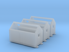 Z logging - Bunkhouses (3pcs) in Frosted Ultra Detail
