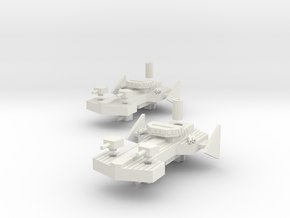 Havi Class Destroyer in White Strong & Flexible