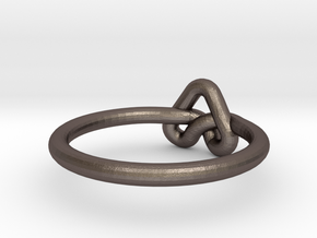 Love Knot-sz18 in Stainless Steel