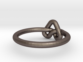 Love Knot-sz17 in Stainless Steel