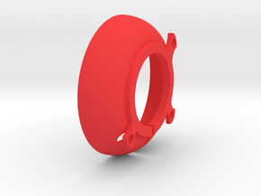 Ring Illum Elliptical Reflector in Red Strong & Flexible Polished