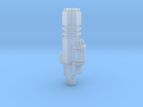 Trident Pattern Hecta-Laser Cannon (x1) in Frosted Ultra Detail