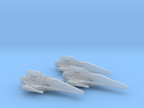 Corvan T-8 Light Fighter Wing 1/270 in Frosted Ultra Detail