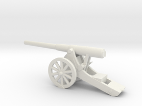 5-Inch BL Siege Rifle  15mm in White Strong & Flexible