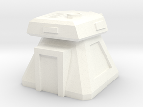 Gun Emplacement (1/160) in White Strong & Flexible Polished