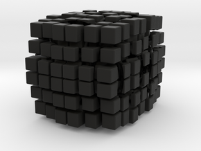 6x6x7 Cuboid in Black Strong & Flexible