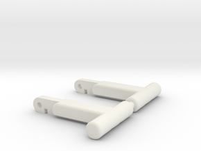 Replacement Romano/Assassin/Hook/Aveline Locks in White Strong & Flexible