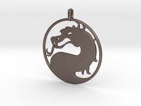 Mortal Kombat Logo - Necklace in Stainless Steel