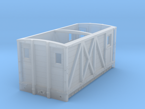 NSR 10ton Breakdown Train Brake Van body – 4mm sca in Frosted Ultra Detail