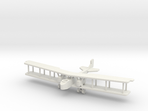 Aircraft- Gotha G.V Bomber (1/288th) in White Strong & Flexible