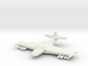 1/285 (6mm) A-37 Dragonfly w/Ordnance in White Strong & Flexible