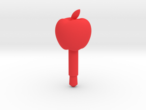 Apple Headphone Jack Accessory in Red Strong & Flexible Polished