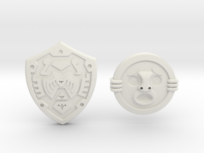 Shield Pack II in White Strong & Flexible