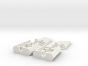 Logitech G35 Parts in White Strong & Flexible