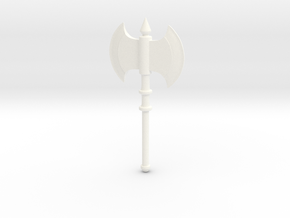 Female Axe in White Strong & Flexible Polished