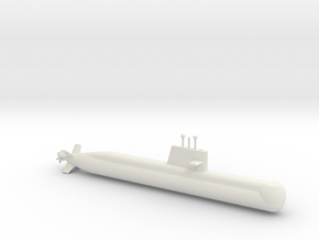1/700 Collins Class Submarine in White Strong & Flexible