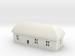 1/700 Villiage House 1 in White Strong & Flexible