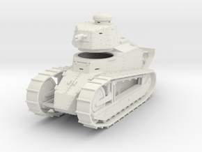 PV09 Renault FT Cannon (28mm) in White Strong & Flexible