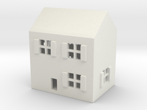 1/700 Town House 1 in White Strong & Flexible
