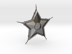 Smallville Starro Device Replica Prop in Polished Nickel Steel