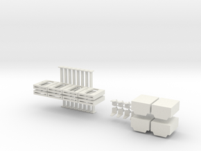 15mm Doors, Chairs, and Lifts in White Strong & Flexible