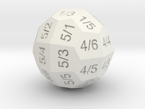 D36 Individual Numbers in White Strong & Flexible