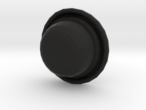 Bowler (rounder top) in Black Strong & Flexible
