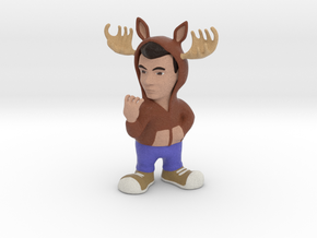 GhostFacers Harry (Moose Hoodie) in Full Color Sandstone