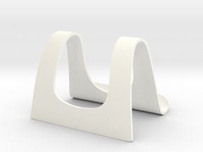 Tabletstand Export3 in White Strong & Flexible Polished