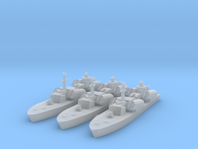 1/1250 Soviet Osa Missile Boat x 3 in Frosted Ultra Detail