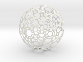 Hollow Sphere in White Strong & Flexible