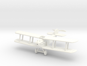 1/72 Sopwith Dolphin in White Strong & Flexible Polished