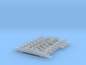 1/3000 Italian Heavy Cruisers in Frosted Ultra Detail