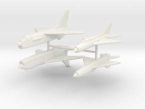 1/350 F-8 Crusader & MiG-21PF in White Strong & Flexible