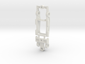 1 43 chassis adjustable RS in White Strong & Flexible