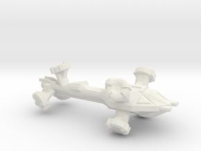 Digitorium Warp Bubble Frigate in White Strong & Flexible