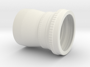 Zeiss Biogon 60 mm f/5.6 (semplified reproduction in White Strong & Flexible