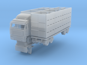 StockTruck and trailer 1:120 in Frosted Ultra Detail