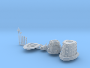 Dalek Supreme Sprue 016c in Frosted Ultra Detail