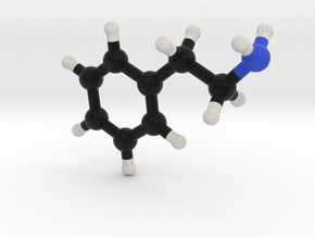 Love / Valentine Molecule: Phenylethylamine 2-PEA in Full Color Sandstone