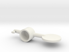acc stl   THUMB 1 in White Strong & Flexible