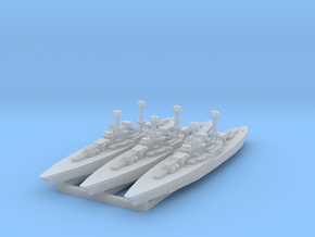 South Dakota Class (BB-49) 1:4800 x3 in Frosted Ultra Detail