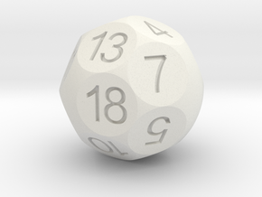 D18 by Alea Kybos in White Strong & Flexible