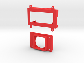IMRC 5 8Ghz v2 enclosure (20mm fan) in Red Strong & Flexible Polished
