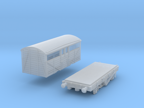 GWR - Mex B - 8 ton cattle wagon in Frosted Ultra Detail